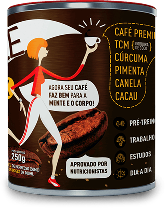 Lata de Coffee Thermo Mix