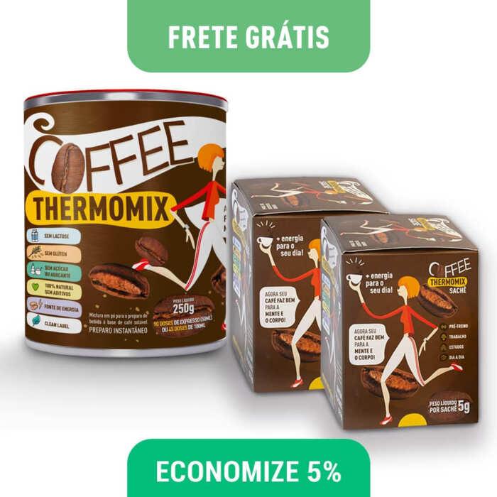 Coffee ThermoMix – Kit lata e saches