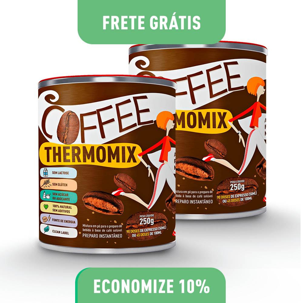 Coffee ThermoMix – Kit com 2 Latas 250g cada (economize 5)