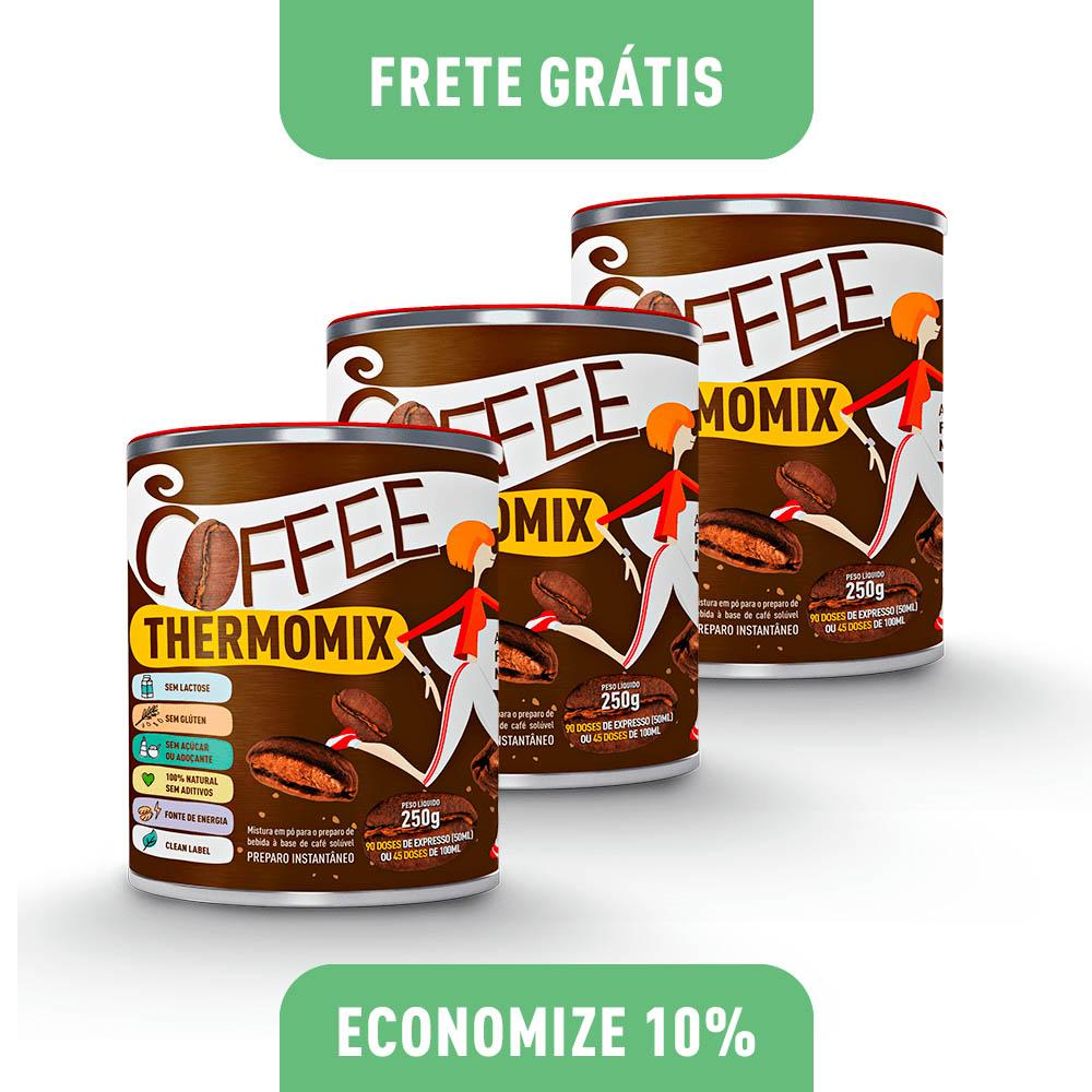 Coffee ThermoMix – Kit com 3 Latas 250g cada (economize 5)