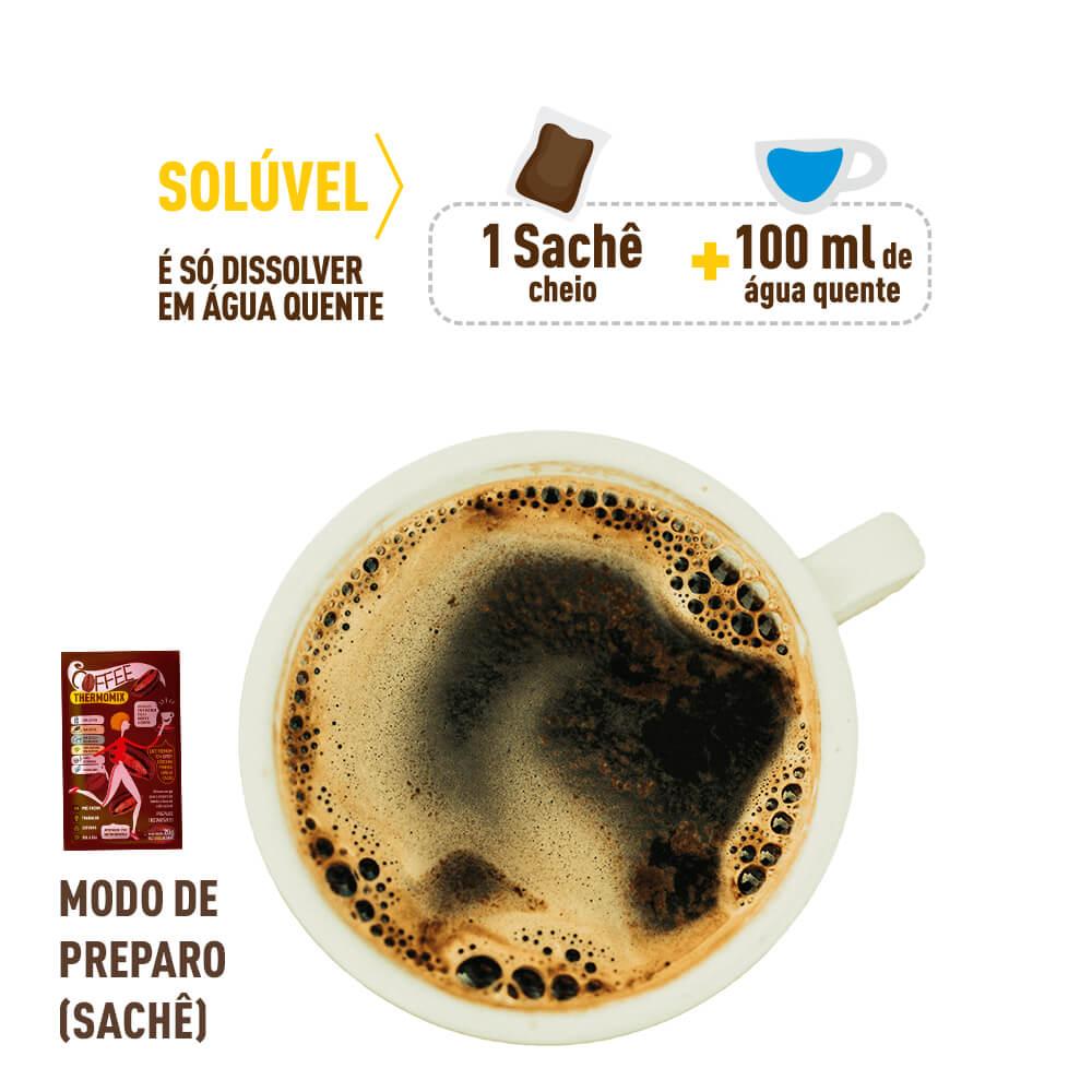 Modo de Preparo - Coffee ThermoMix Sachê de 5g