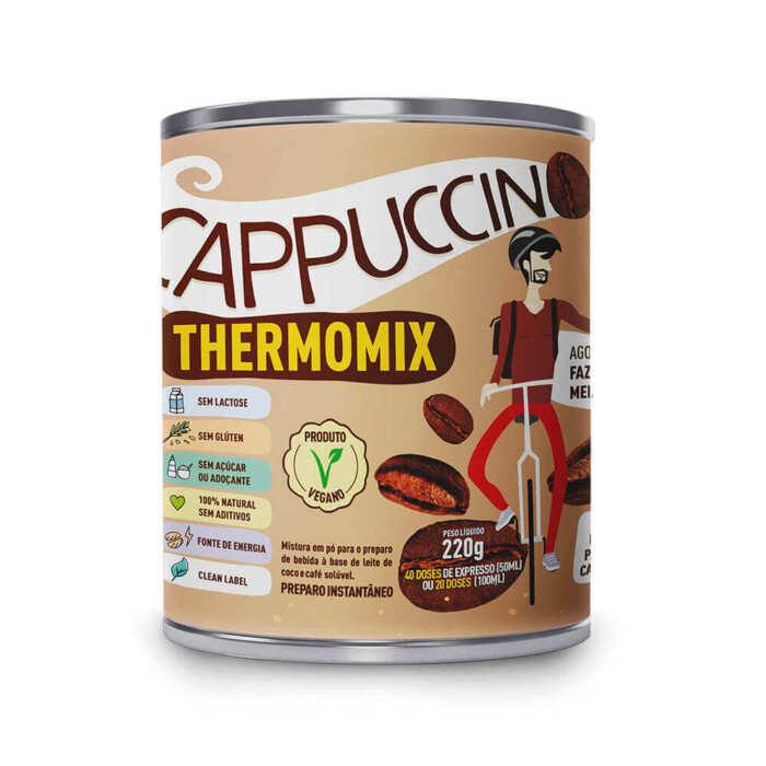 Cappuccino ThermoMix - LATA - Mix Brasil Fit