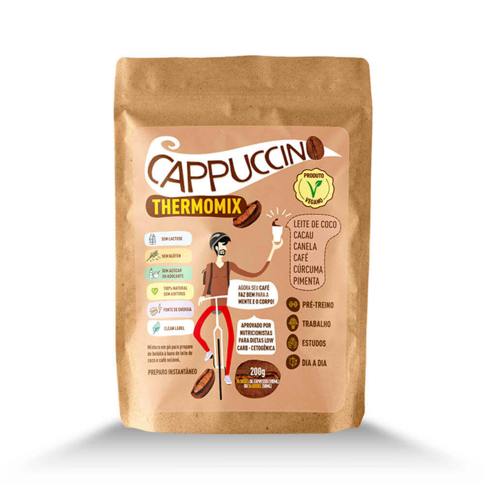 Cappuccino ThermoMix - Stand Up Pouch- Mix Brasil Fit