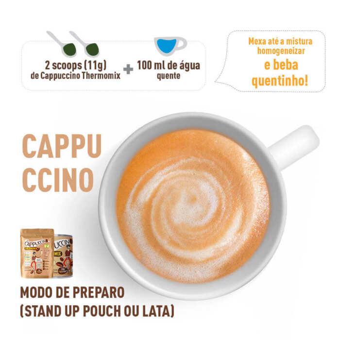 Cappuccino ThermoMix - Modo de Preparo- Mix Brasil Fit