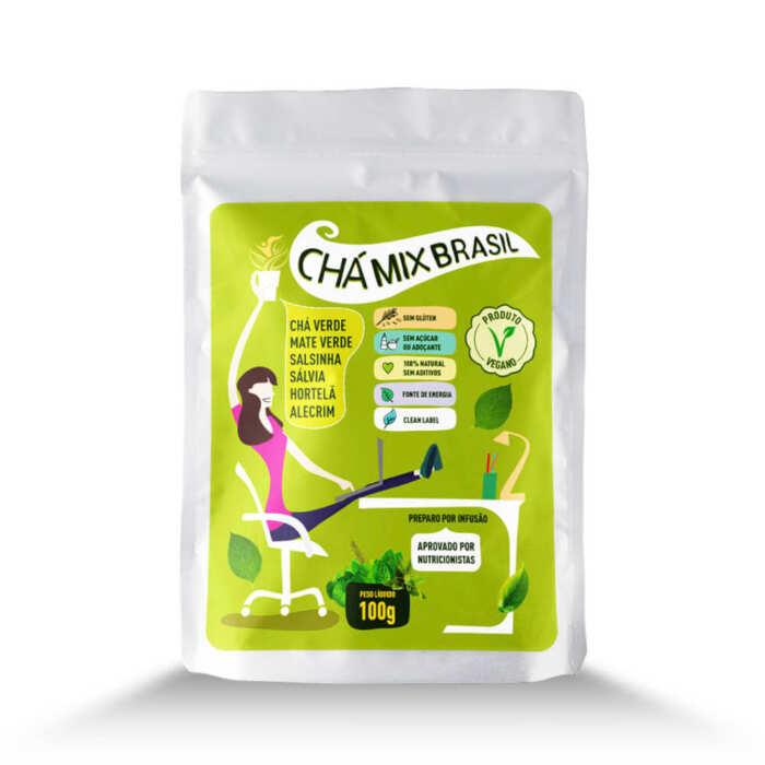 Chá Mix Brasil - Stand Up Pouch- Mix Brasil Fit