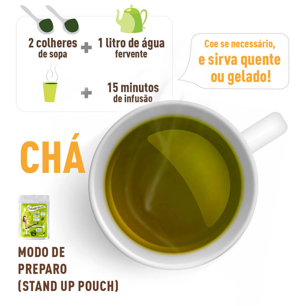 Chá Mix Brasil - Como Preparar - Mix Brasil Fit