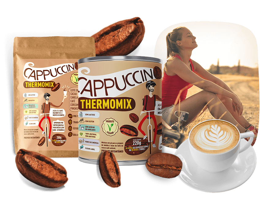 Cappuccino ThermoMix - Mix Brasil Fit