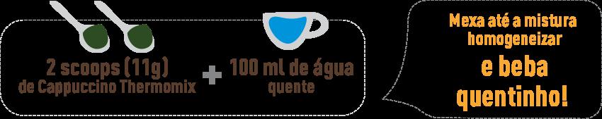 Como preparar o Cappuccino ThermoMix