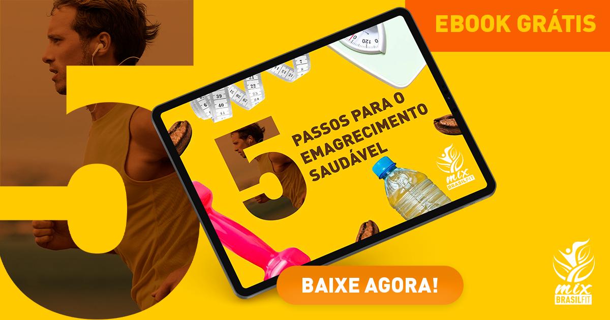 Ebook Grátis - 5 passos para o emagrecimento saudável